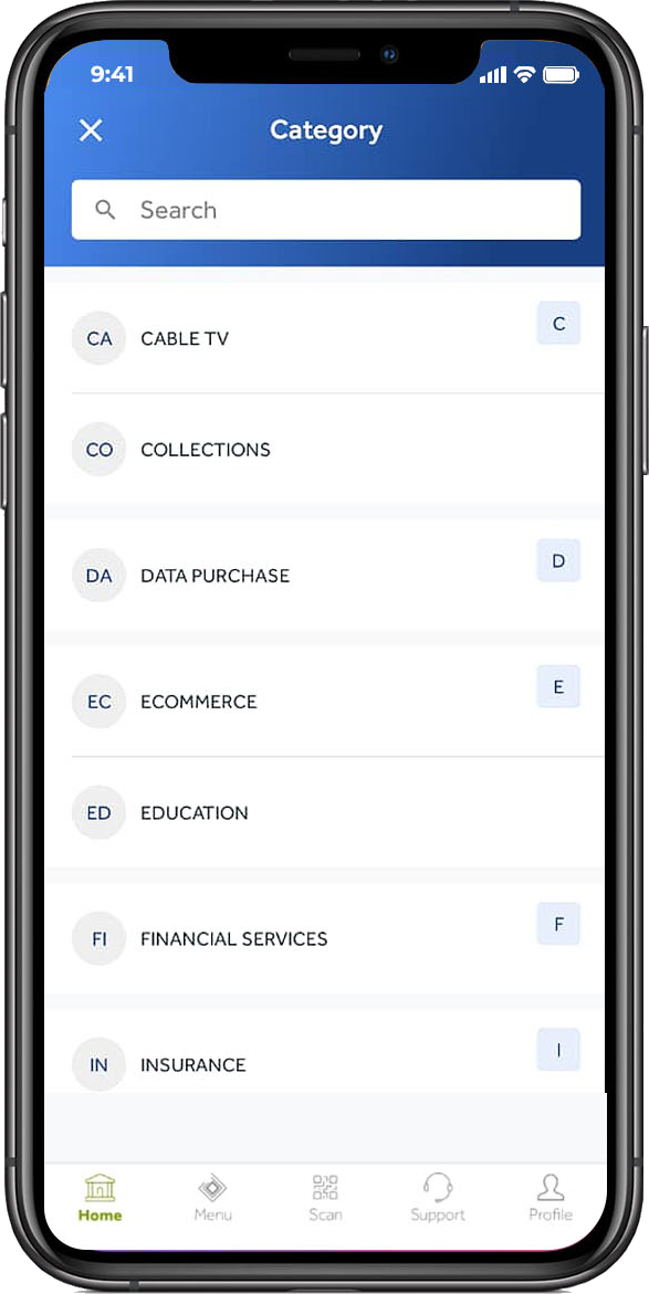 Access Mobile app